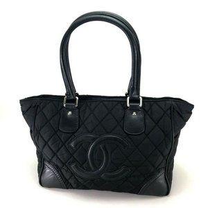 CHANEL Paris New York Line Shoulder Bag Tote Bag